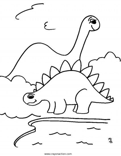 Coloring Page Dinosaur Coloring Pages Pdf Coloring Page and
