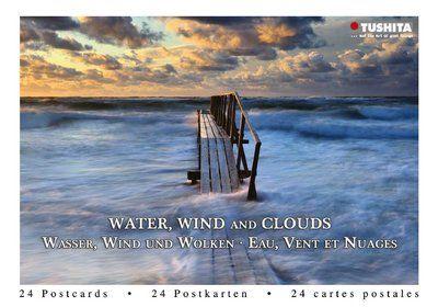 Tushita Postcard Book   Water, Wind and Clouds