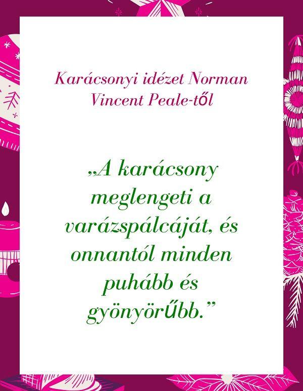 norman vincent peale idézetek Karácsonyi idézet Norman Vincent Peale től | Idézetek, Idézet és