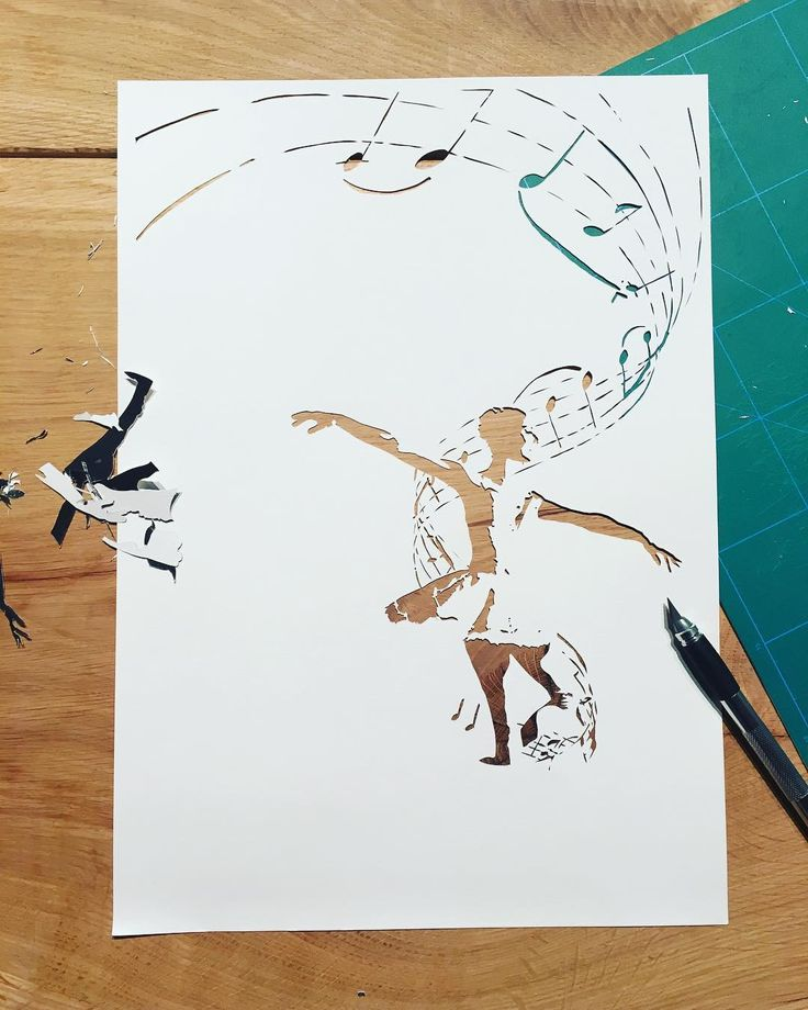 I wont be able to make a lot more orders before Christmas. I might close my shop once one more order comes in. After that I want to enjoy myself and prepare some personal gifts and have some quality time with my family until Christmas. I hope everybody does understand... . {work in progress - paper cut - ballerina with swan lake music notes swirling around her - available in my Etsy shop - link in bio} . . . #ballerina #ballerinaart #dancer #dancergift #dancerart #danceart #papercut…