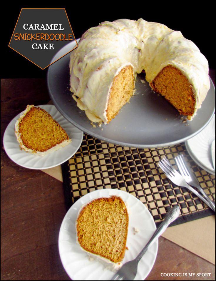 Karamell Snickerdoodle Kuchen | Kochen ist mein Sport
