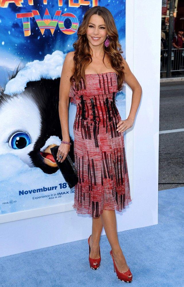 "Sofia Vergara Photos - ""Happy Feet Two"" World Premiere - Zimbio"