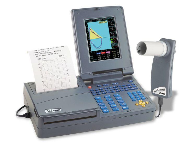 Mire este producto que puede interesarle: Espirometro MIR Spirolab III 910650. #espirometros