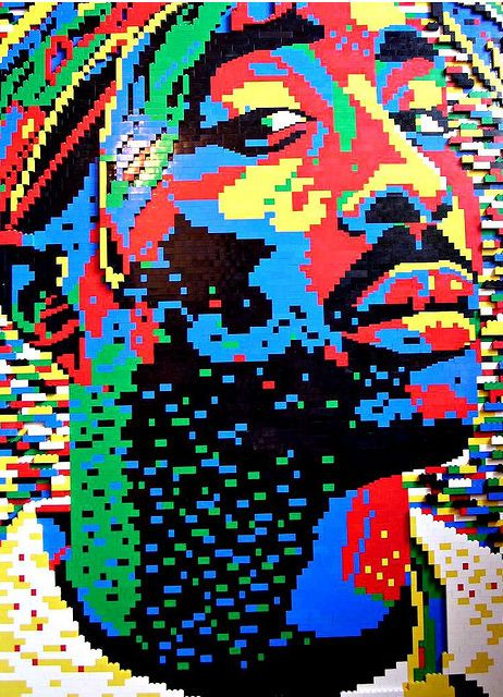 It's amazing what some can create with LEGOs. #4 is awesome! Tupac