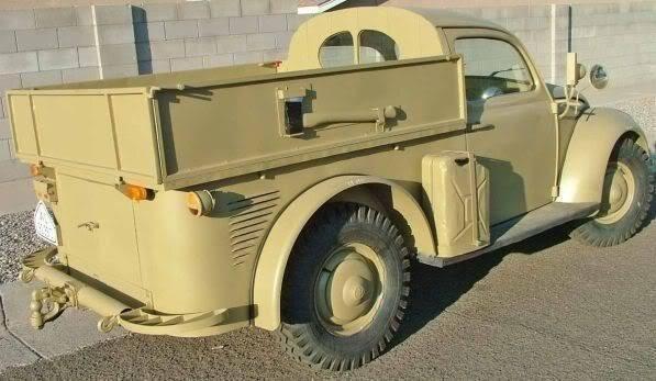 WW2 VW Beetle