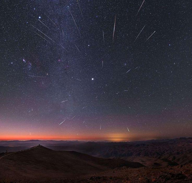 Annual Geminid meteor shower - wordlessTech