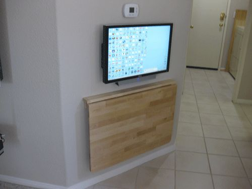 wall mounted fold away table - Wall Mounted Folding Table, Your Practical Partner – Home Decor News