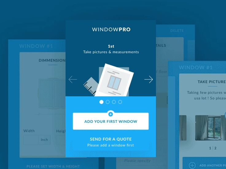 WindowPRO UX&UI animation