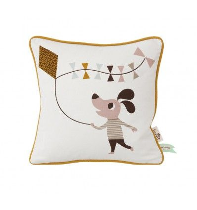 Cojín Sr. Perro 30 x 30 cm Ferm Living Cushion Dog