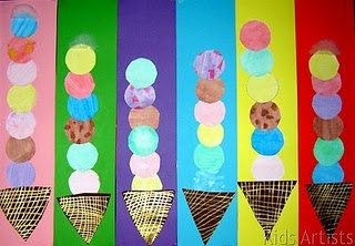 ice cream cone patterns