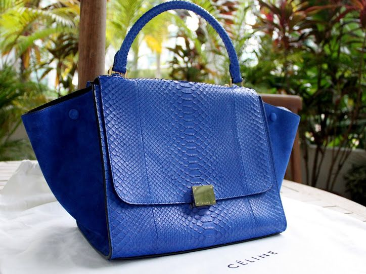 how much does a celine handbag cost - celine python trapeze
