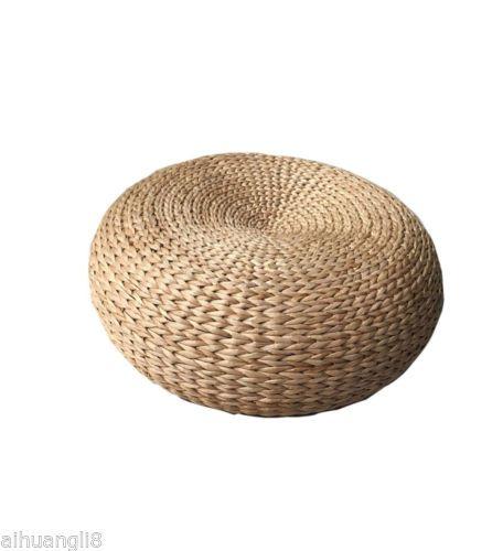Japanese-Style-Hand-Woven-With-Steel-Tatami-Floor-Cushion-Corn-Maize-Husk-D-84