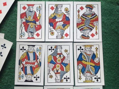 Non Standard Swedish Gamla Spelkort Fascimilie of c1800 Playing Cards | eBay