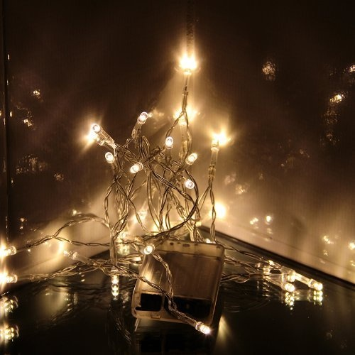 23 best battery operated white lights images on pinterest innoo techwarm white 30 led string lights battery operated for xmas christmas wedding mozeypictures Gallery