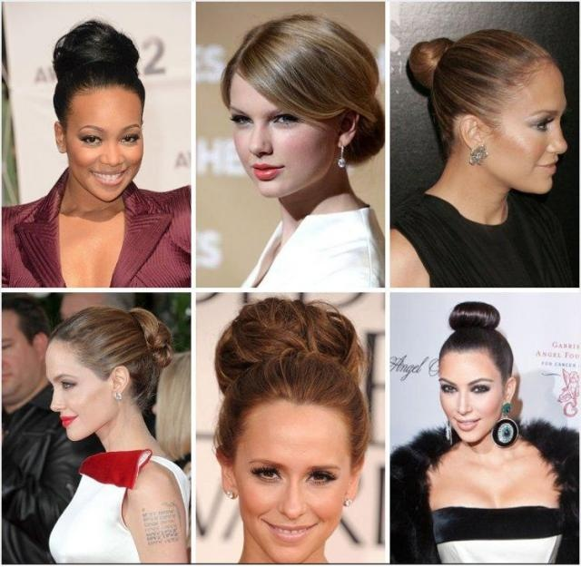 Wedding Hair: Bun Bridal Hairstyles inspired by celebrities