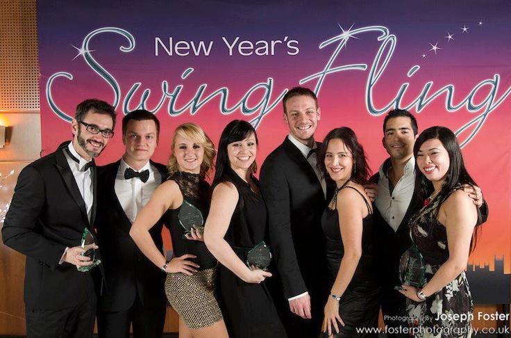 New Year's Swing Fling 2012-13  London UK  Open Jack & Jill — with Chris Bojovic, Batman aka Piotr Lenart