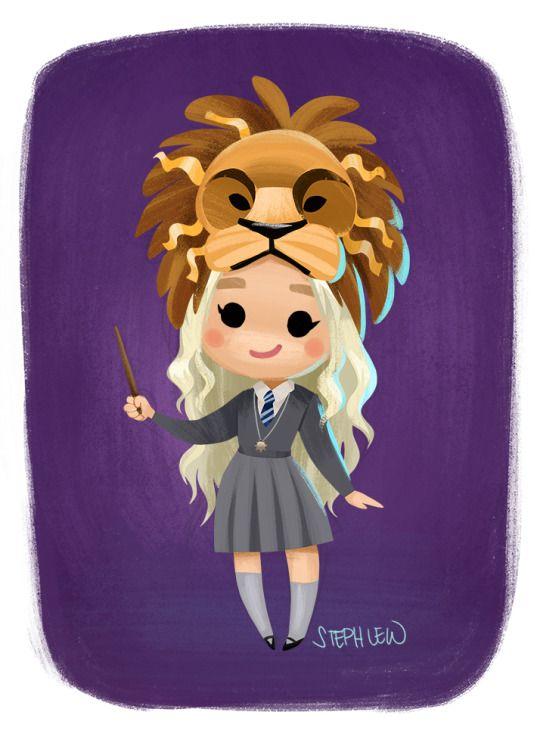 Luna Lovegood  by Steph Lew Art