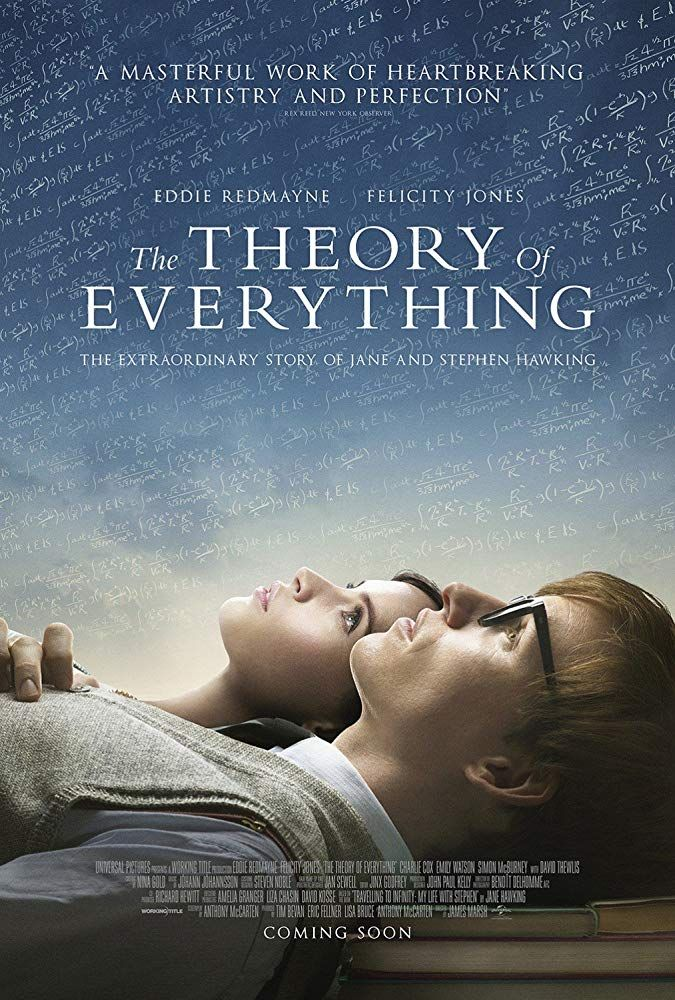The Theory Of Everything 2014 In 2019 Cinema Movies Movie Posters Series Movies