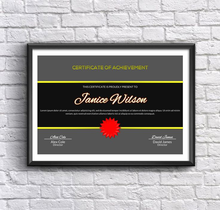 Certificate Of Achievement Word Template Interesting 20 Best Docxshop Images On Pinterest  Etsy Wedding Templates And Words