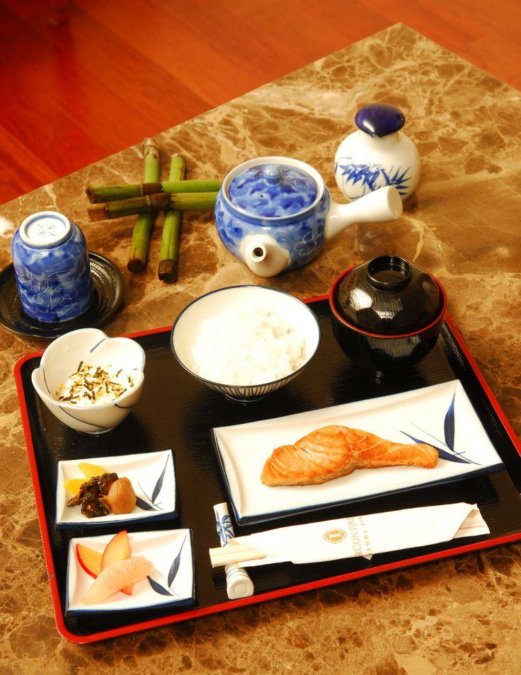 Desayuno Japones en el Restaurant Mediterraneo.  http://www.icbuenosaires.com.ar/Restaurantes.asp