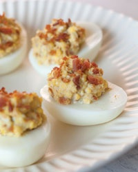 slow cooker giveaway bacon deviled eggs blue cheese goat cheese ...
