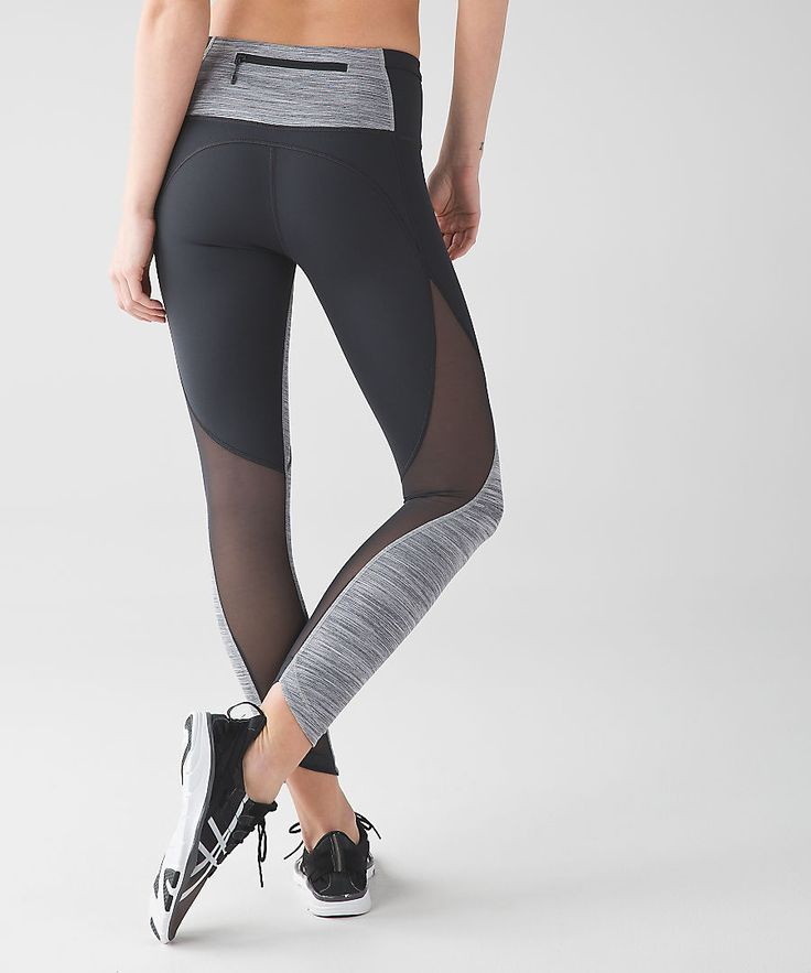 This high-rise tight was designed with ventilation and storage in mind—keep cool and organized when you're on the run.