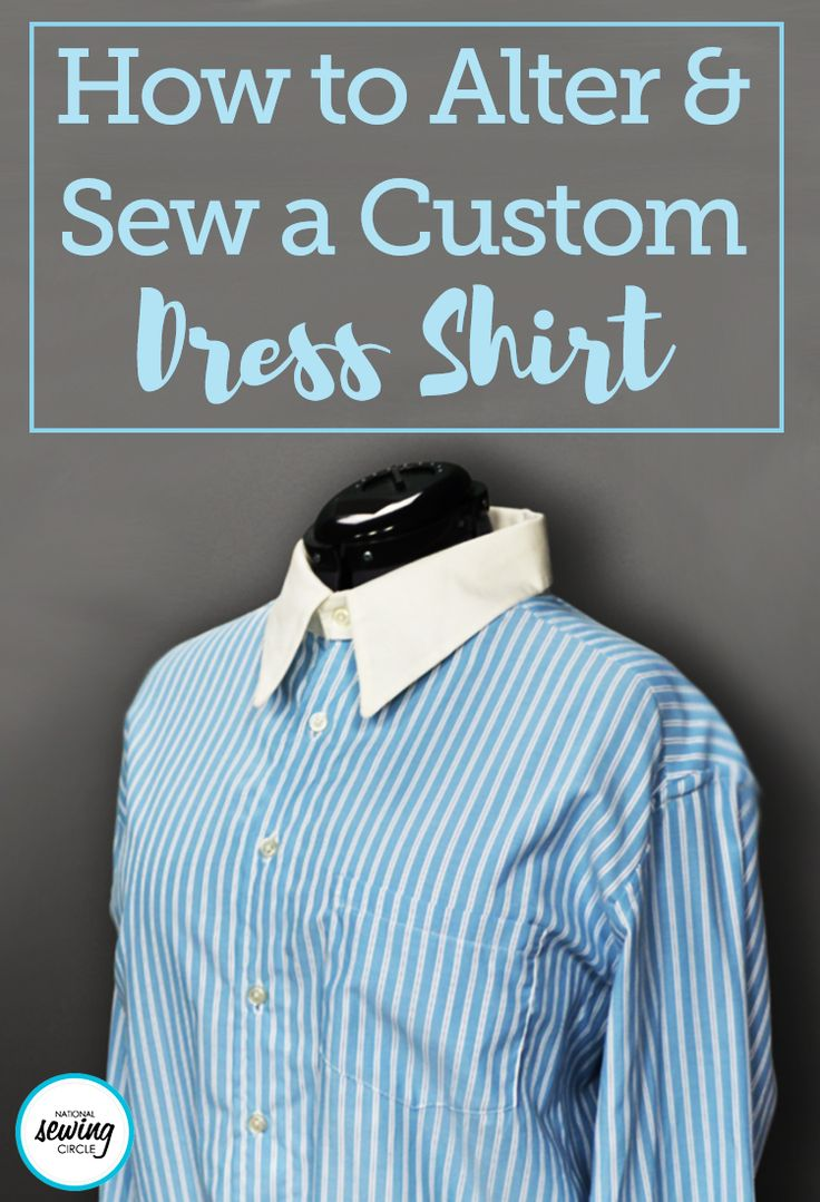 Button down shirts can be found in nearly every closet. Whether you like a fun print on casual fabric or something more formal with cufflinks and a crisp collar, you can make something unique to fit your style after taking this class.