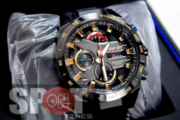 Casio Edifice Watches >> Casio Edifice Infiniti Red Bull Racing Limited Edition Men's Watch EFR-540RBP-1 #casio   Things ...