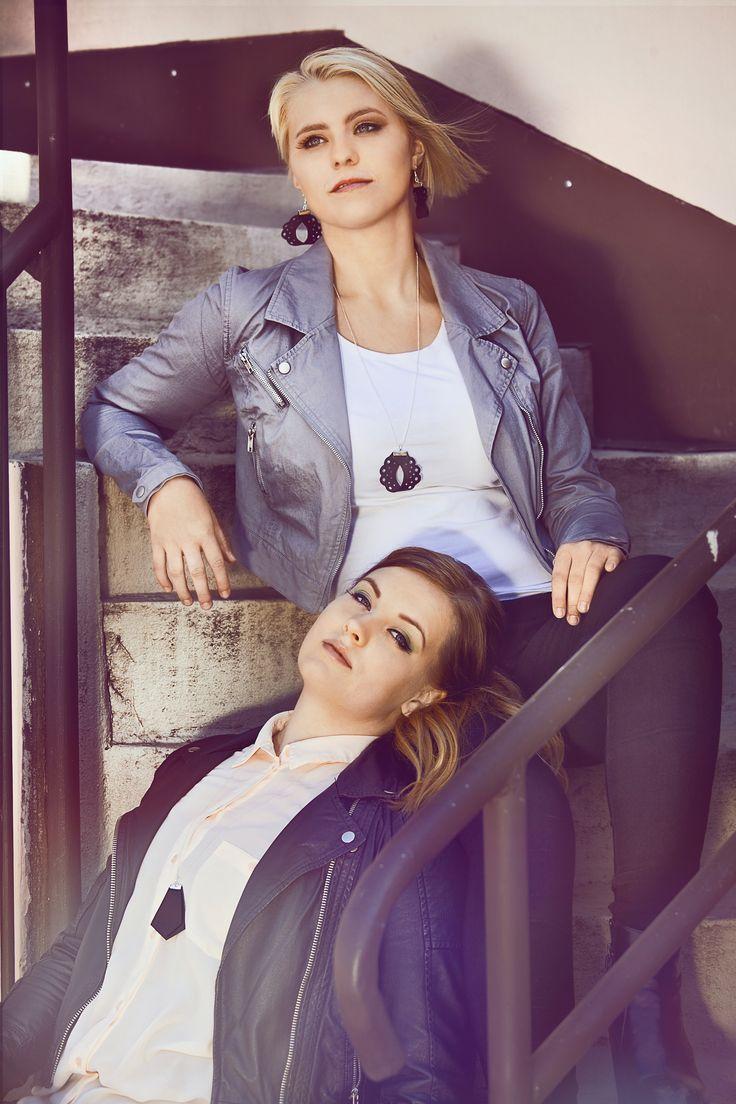 Pitsi-collection and K-collection  Korut; Pitsi ja K-mallistosta  #fashion #muoti #jewel #koru #musta #leather