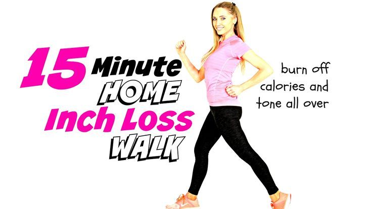 WEIGHT LOSS HOME WALKING WORKOUT - fun workout with toning moves so you burn calories and tone up - YouTube