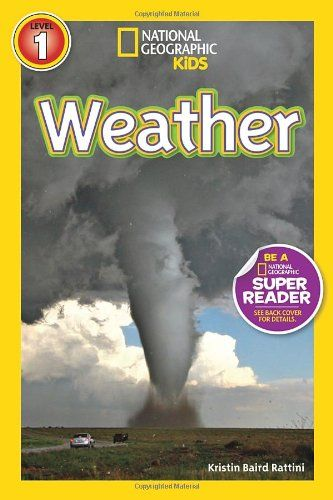 National Geographic Readers: Weather   What causes thunder and lightning? How do different clouds form? What makes a tornado twist? Kids will discover the answers to these Read  more http://shopkids.ca/book/national-geographic-readers-weather