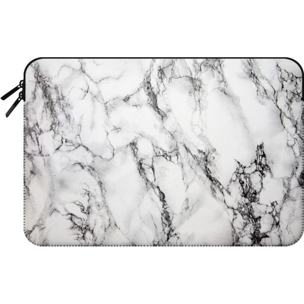 MARBLE - Macbook Sleeve (78 CAD) ❤ liked on Polyvore featuring accessories, tech accessories and macbook sleeve