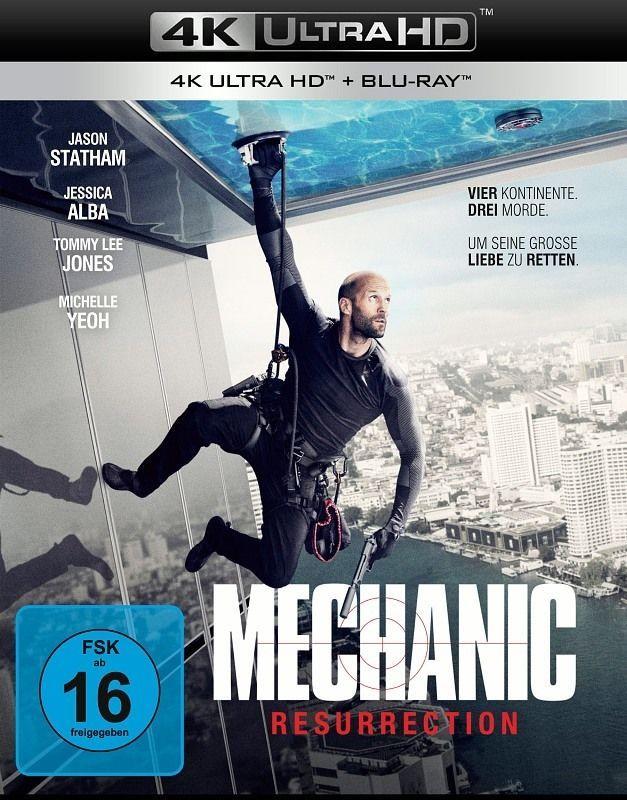 Mechanic: Resurrection - 4 K UHD Blu-ray &   Steven Seagal Troublemaker Collec.
