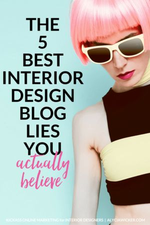 Maybe you think that you'll never have the BEST interior design blog, so why even bother? I mean there's like a bazillion interior design blogs out there and it's not like we need another one. Wrong!