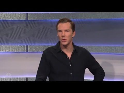 Why Is Benedict Cumberbatch Hot SNL 2016 - YouTube