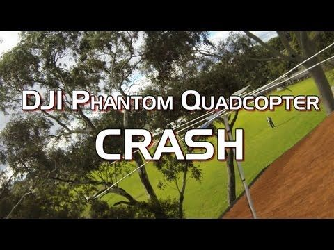 DJI Phantom Quadcopter Drone Crash - Seconds From Disaster! PoathTV RC Helicopters - http://bestdronestobuy.com/dji-phantom-quadcopter-drone-crash-seconds-from-disaster-poathtv-rc-helicopters-2/