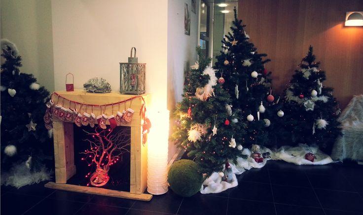Décoration de Noël 2014 dans les bureaux de Wesco Family #WescoFamilyInside