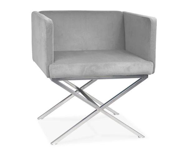 """Fotel """"Corner Aluminium"""", 68 x 57 x 74 cm"""