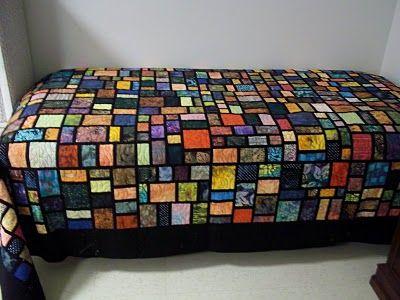 SeattlelStreet pattern using african cloth ( wall hanging next)   Quilts & Fiber   Pinterest ...