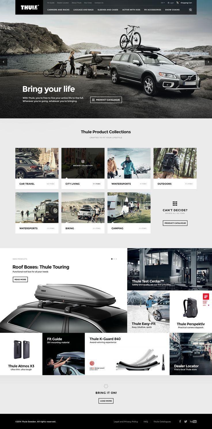 Thule Re-Design Concept by Mykolas Puodziunas