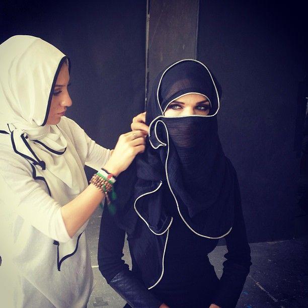 #hijab #niqab