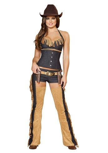 Wild West Wench Women Deluxe Cowgirl Costume, $119.99 - The Costume Land, Love It.