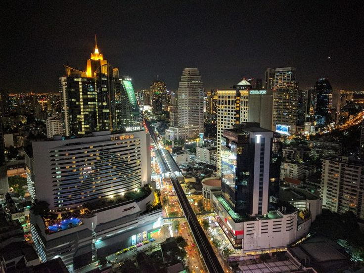 Bangkok rooftop bar view..sofitel sukhumvit