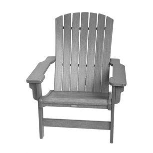 Fanback Chair, Grijs, medium