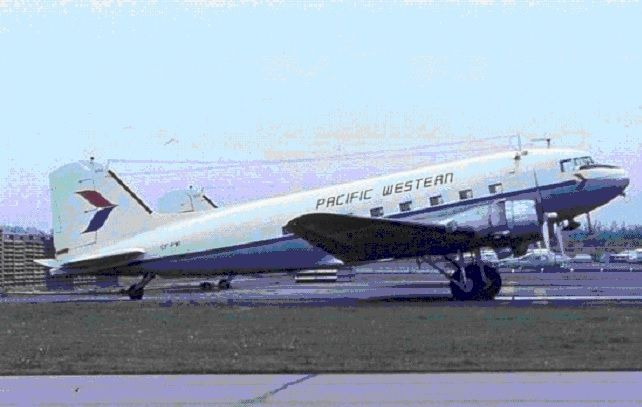 Pacific Western Airlines DC-3
