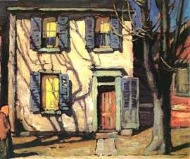 Centre Street, Toronto - Lawren Harris (Canada, Group of Seven)