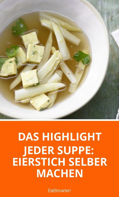 Das Highlight jeder Suppe: Eierstich selber machen | eatsmarter.de