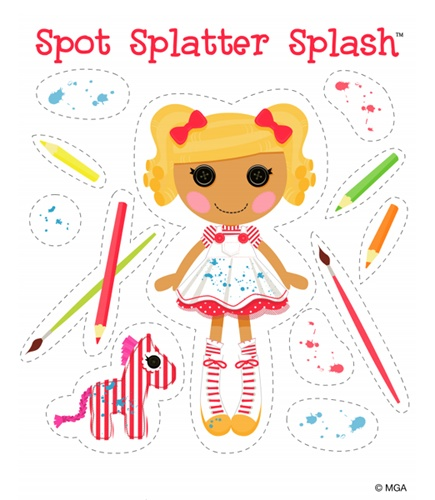 Lalaloopsy Printable Dolls  - maybe print and put on magnets for road trip