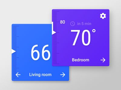 Thermostat Widget for Android L/M