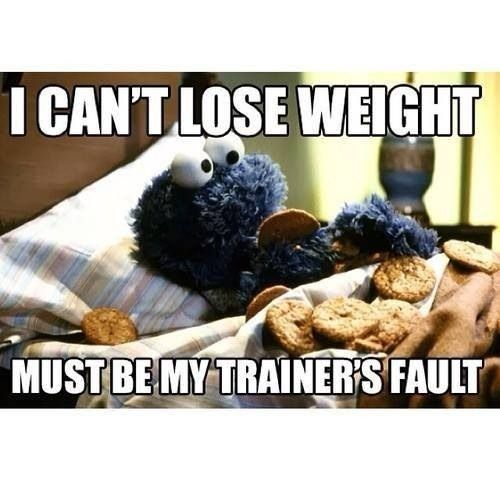 Haha- the importance of healthy eating!!